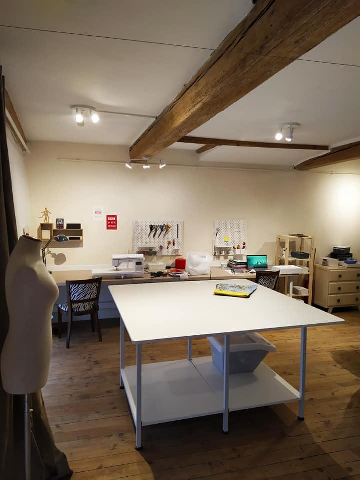 Un nouvel atelier tout bien rangé